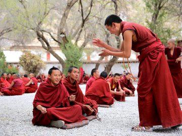 Monks-DebateSera-Monatery