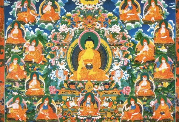 The Seventeen Pandits of Nalanda Monastery