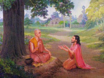 Upatissa as son of Rupasari became known as Thera Sariputta