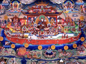 Zangdokpalri - Padmasambhava pureland paradise (the Copper-coloured Mountain)